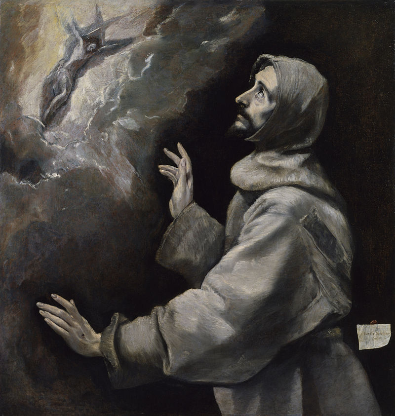St. Francis of Assisi by El Greco (1541-1614)