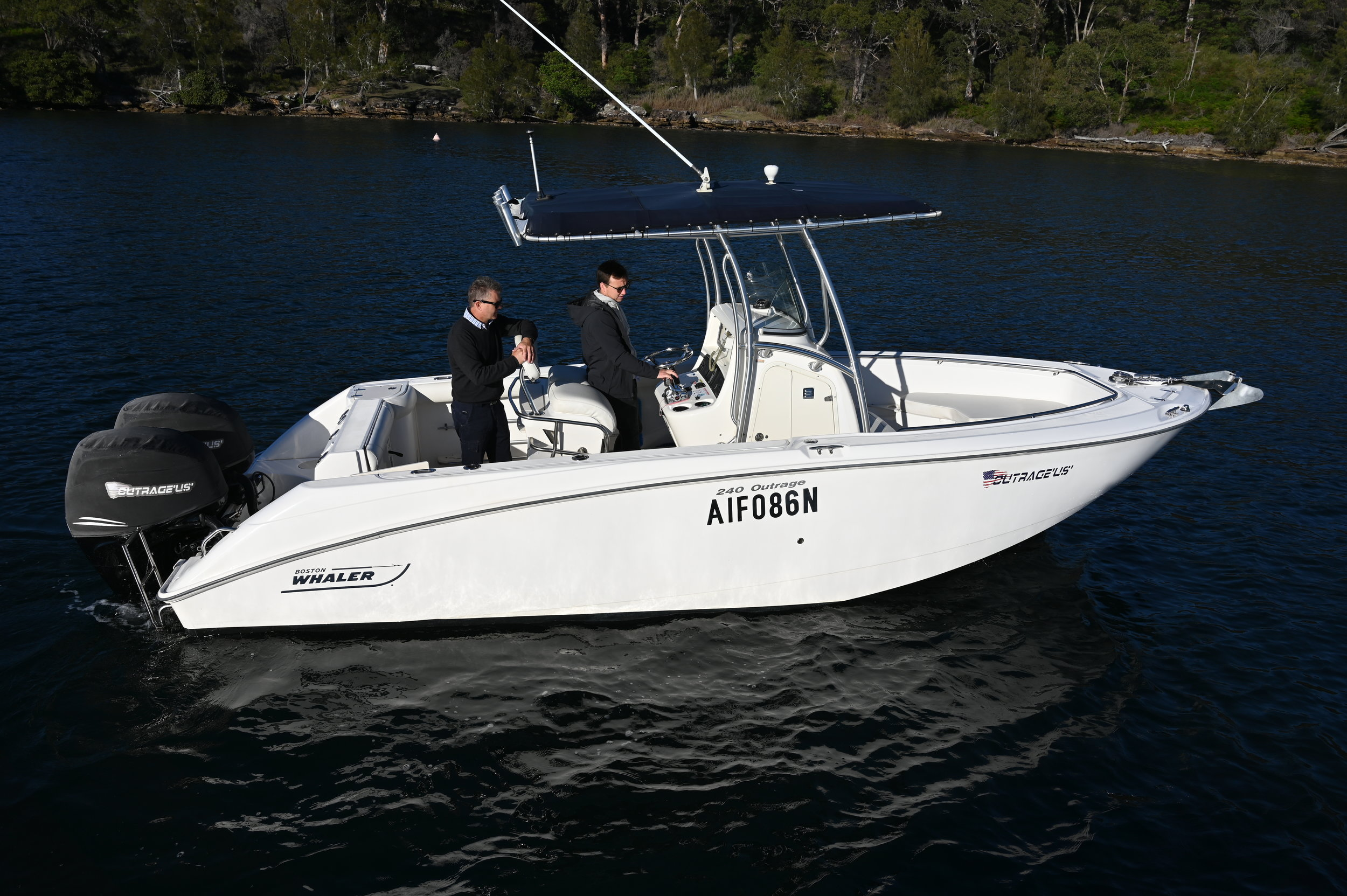 The perfect offshore fishing machine! The Boston range is world renowned.