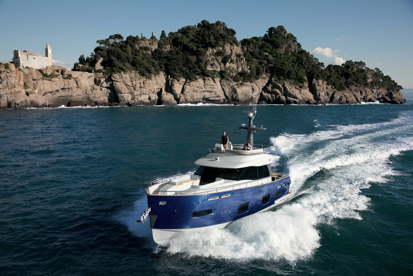 This elegant 15.64 GRP metre passage maker from renowned Italian yacht manufacturer, Azimut, is available for purchase in as new condition.
