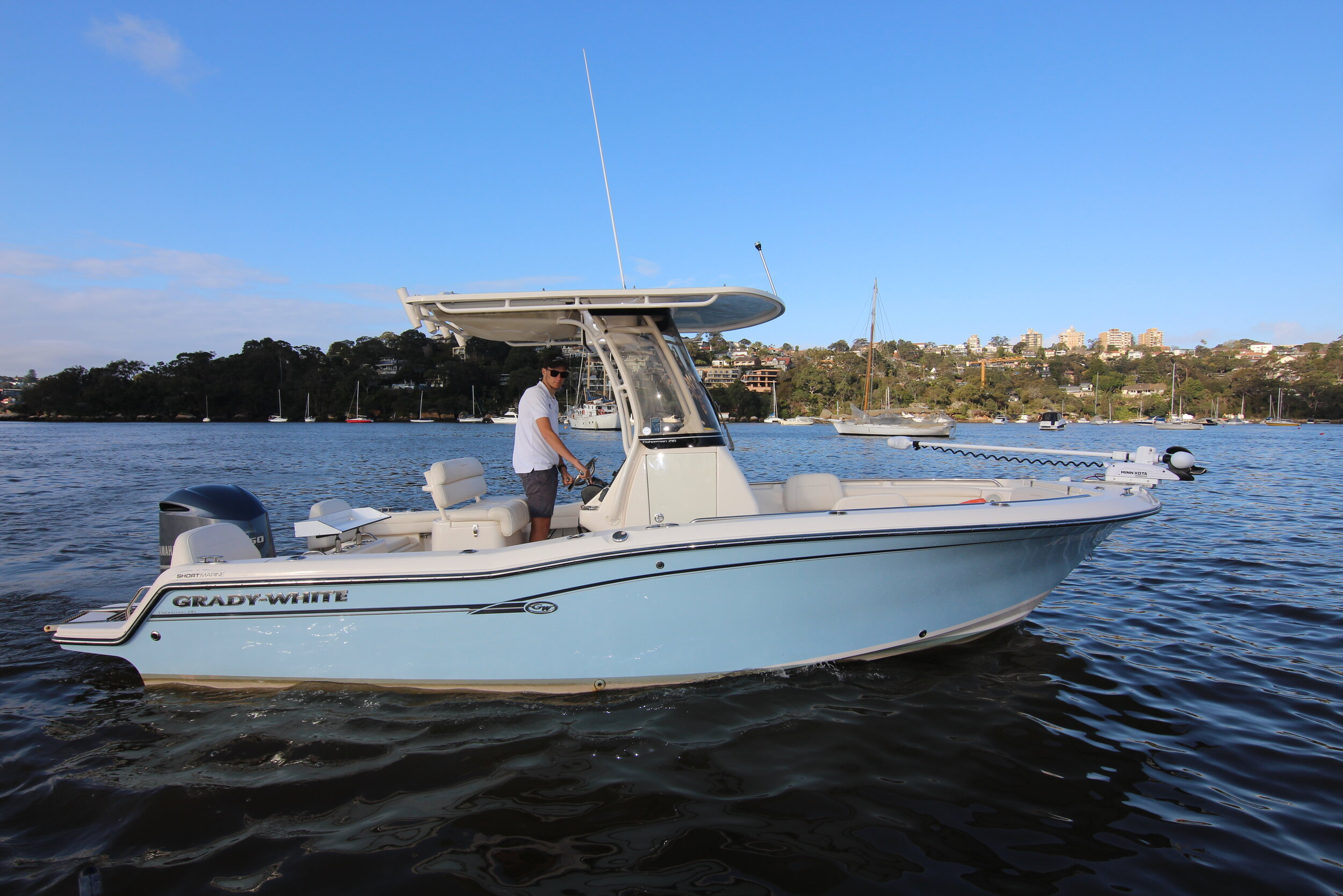 One of the most highly sought after American inshore/ offshore fishing boats ever made!