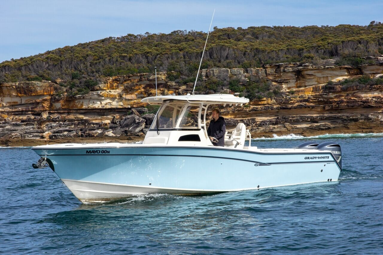 Fully optioned new Grady-White 306 Canyon with all the new boat benefits of hull and engine warranty and the turn key appeal.