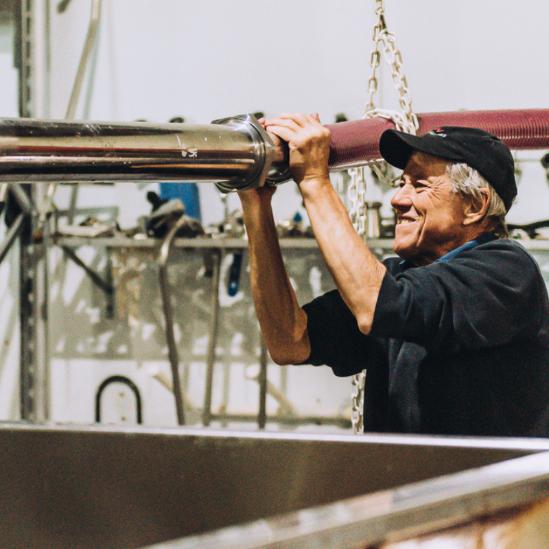 Ian - 3rd gen winemaker, Ian shares his wisdom, experience and care with each grape, glass and bottle