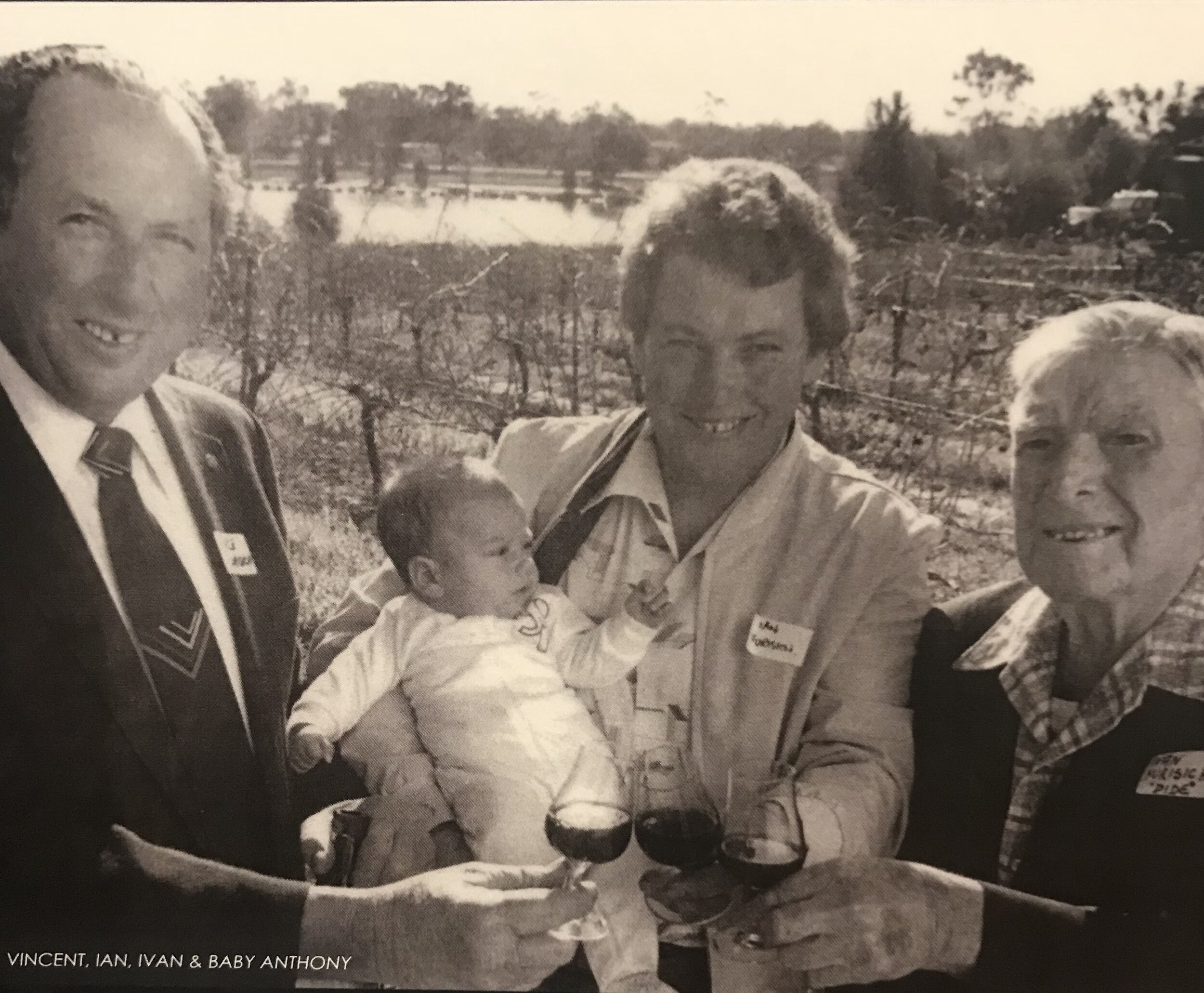 4 Generations of Yurisich Winemakers! -