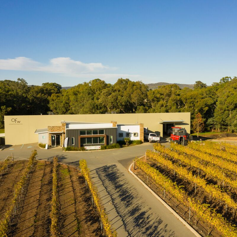 We moved to our new family designed winery in 2006, and have been there ever since! -