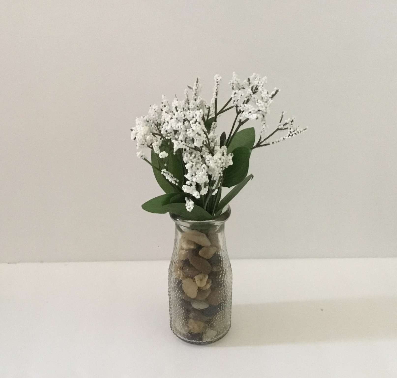 I MADE THIS THE DAY I POSTED THIS - $3 TOTAL FOR JAR, ROCKS AND FLOWERS