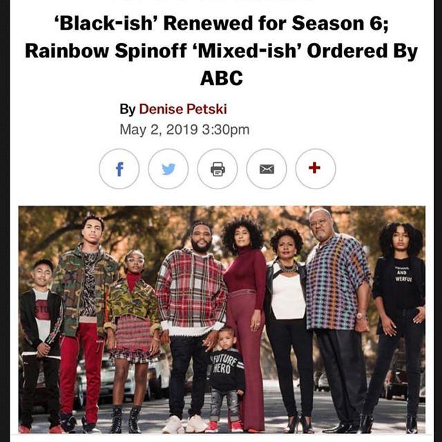 Cheers to one of our faves getting her first #ExecutiveProducer credit!! WE STAN for the amazing @traceeellisross . . #QueensRecognizeQueens #WomenInMedia #WomenInTV #WomenInFilm #BlackEntertainer #BlackProducer #BlackActress #ProducerBae #EP #MixedIsh #BlackIsh #RainbowJohnson #TraceeEllisRoss #ABC #Spinoff #TVNews #LivingSingle #TrueQueen #BlackQueen #BlackWoman #MixedQueen #MixedWoman #Congratulations