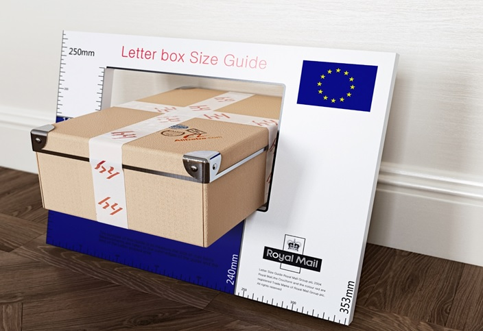 The parcels have grown in size, the letterbox remains the housebuilders signature.