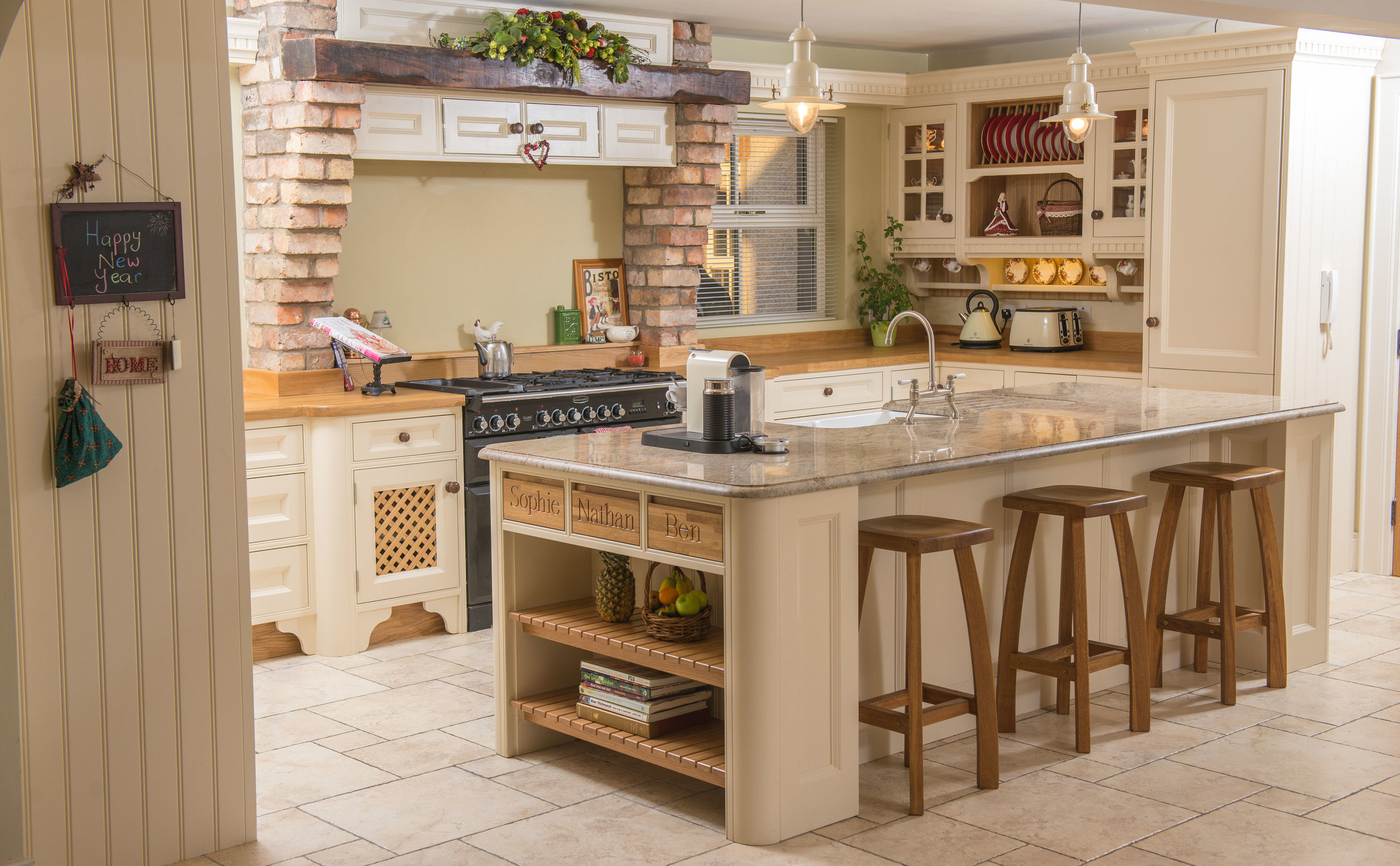 ELM -002 -Hand painted kitchen.JPG