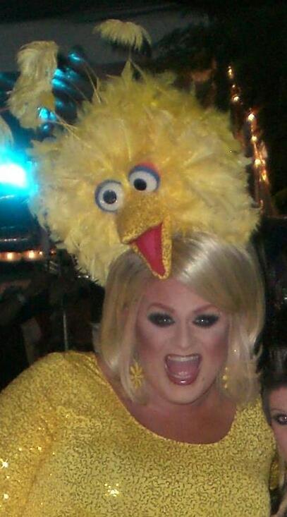 Big Bird Outfit