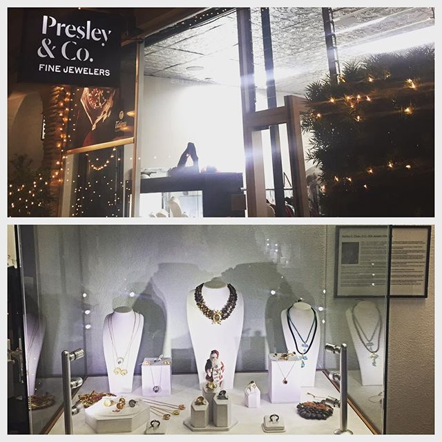 What a spectacular evening last night! So humbled to be one of the emerging designers carried at this incredible store! #holidayjewelryparty #northparksandiego #shopsmall #presleyandco #beautyrecognized #leileejewels