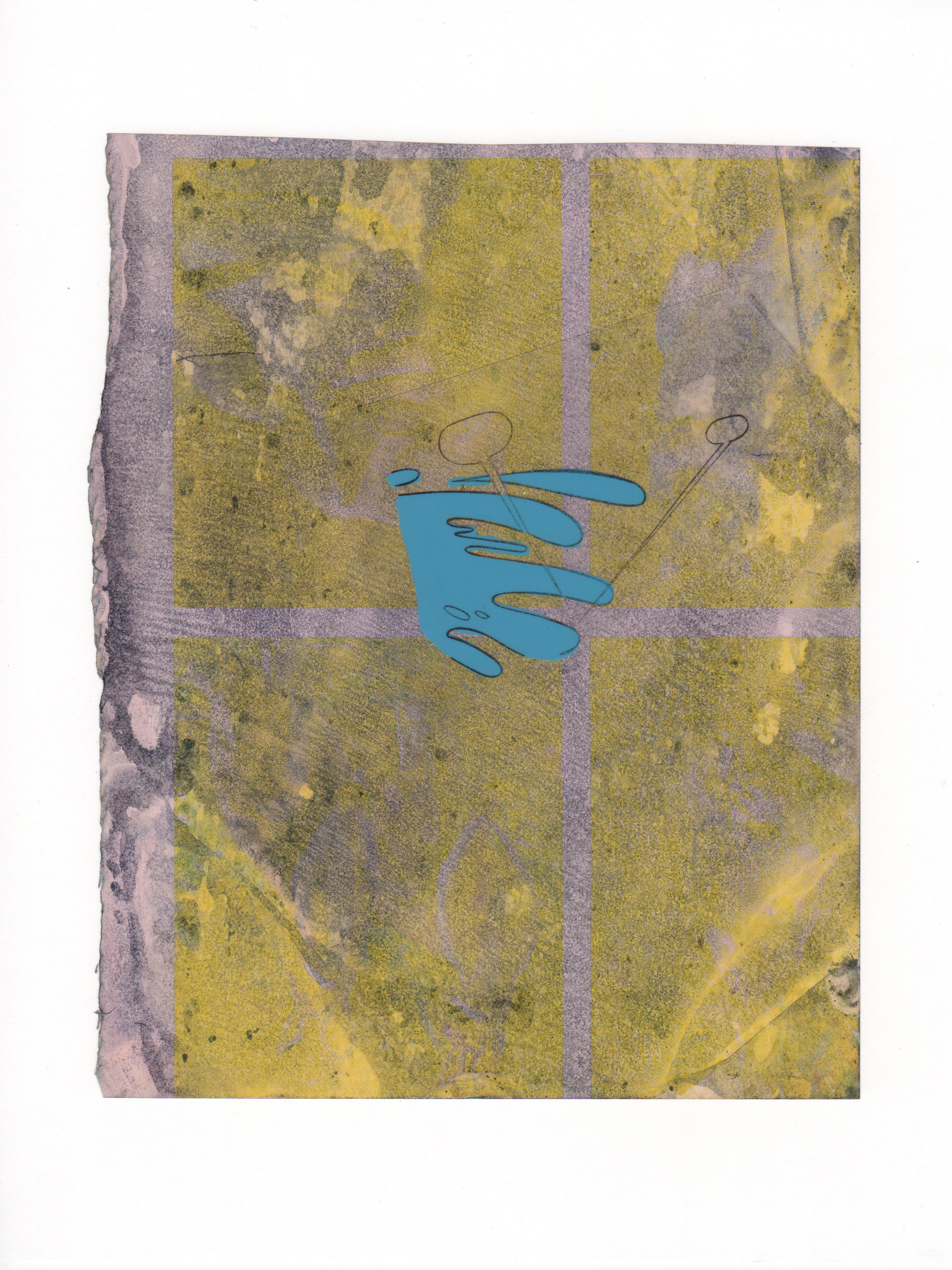 The Wave 2015 acrylic mylar archival ink and paper 8 5 x 11