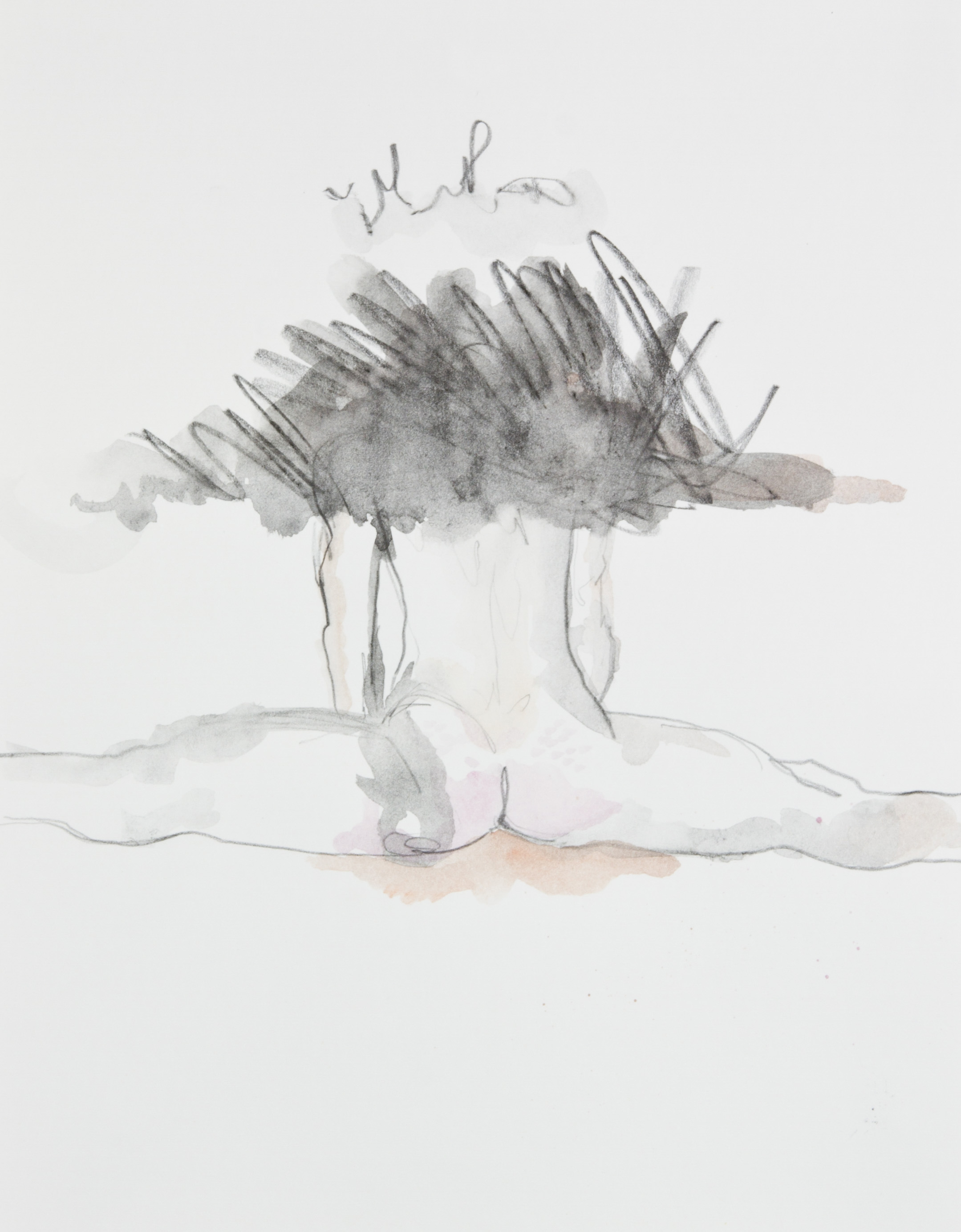 As Above So Below 2013, graphite and watercolor pencil on paper, 11x14 inches