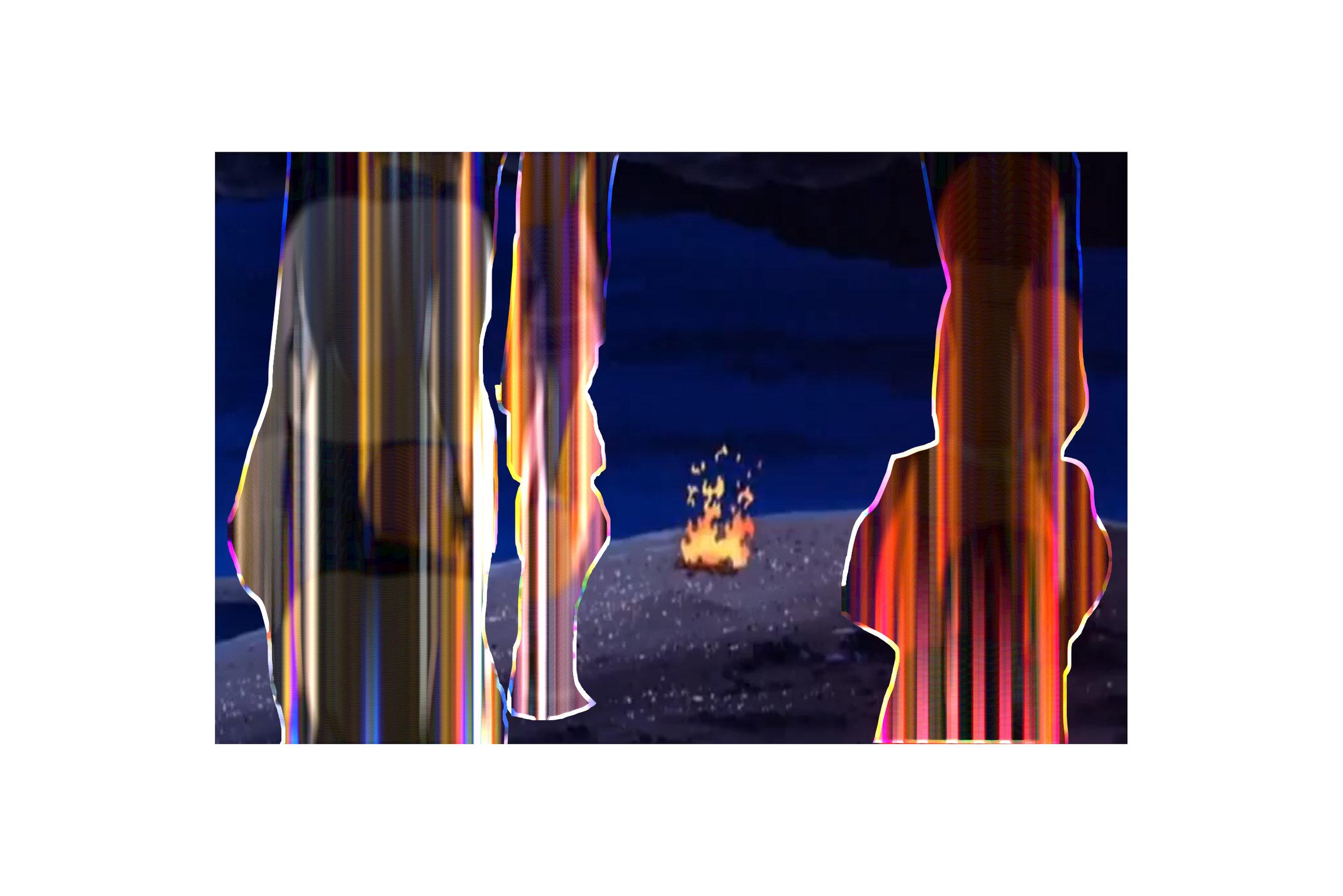 Conjurings, Digital Collage, 2013