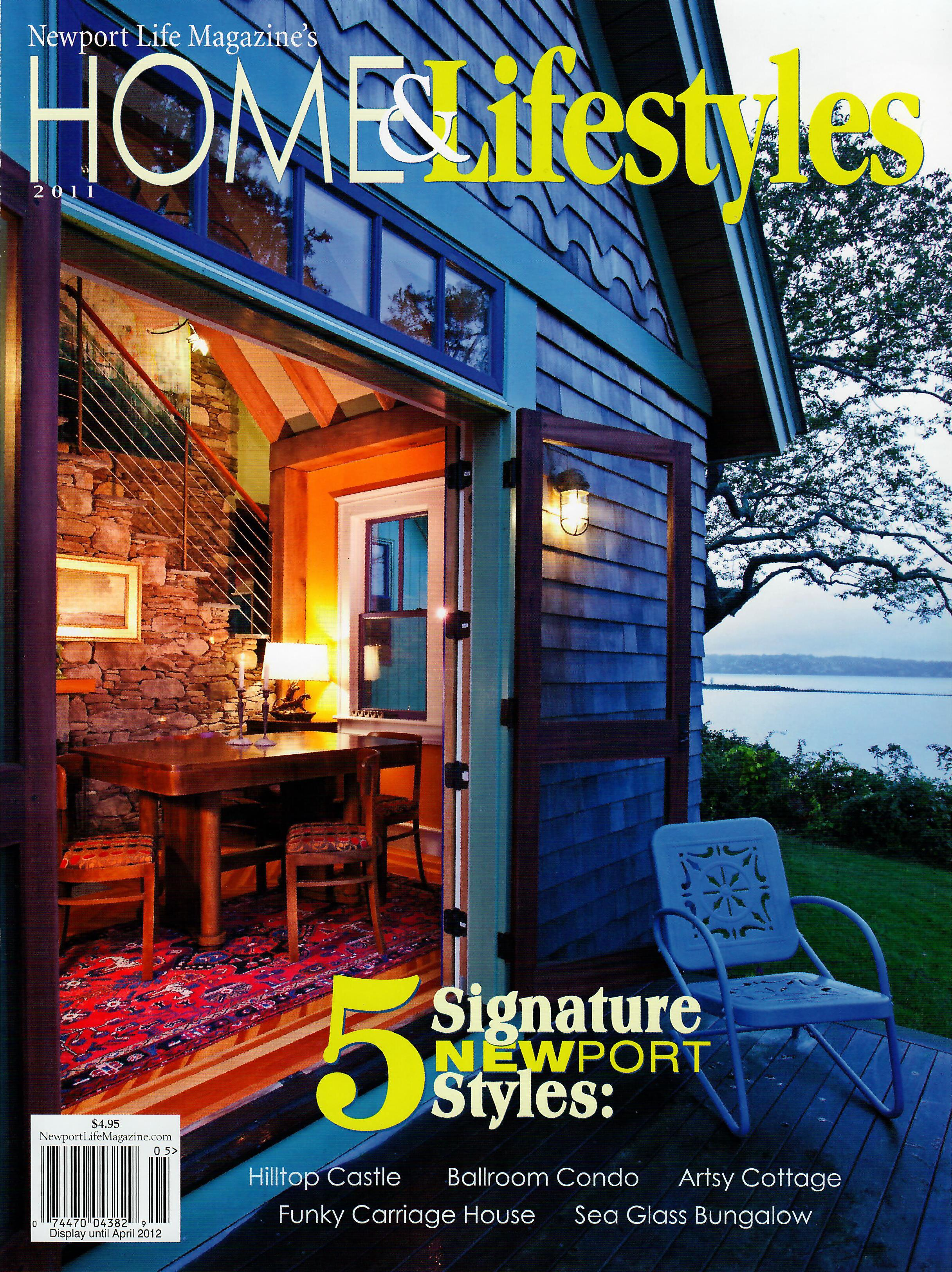 """The Dacha """"Country House"""", Newport Life Magazine Home & Lifestyles"""