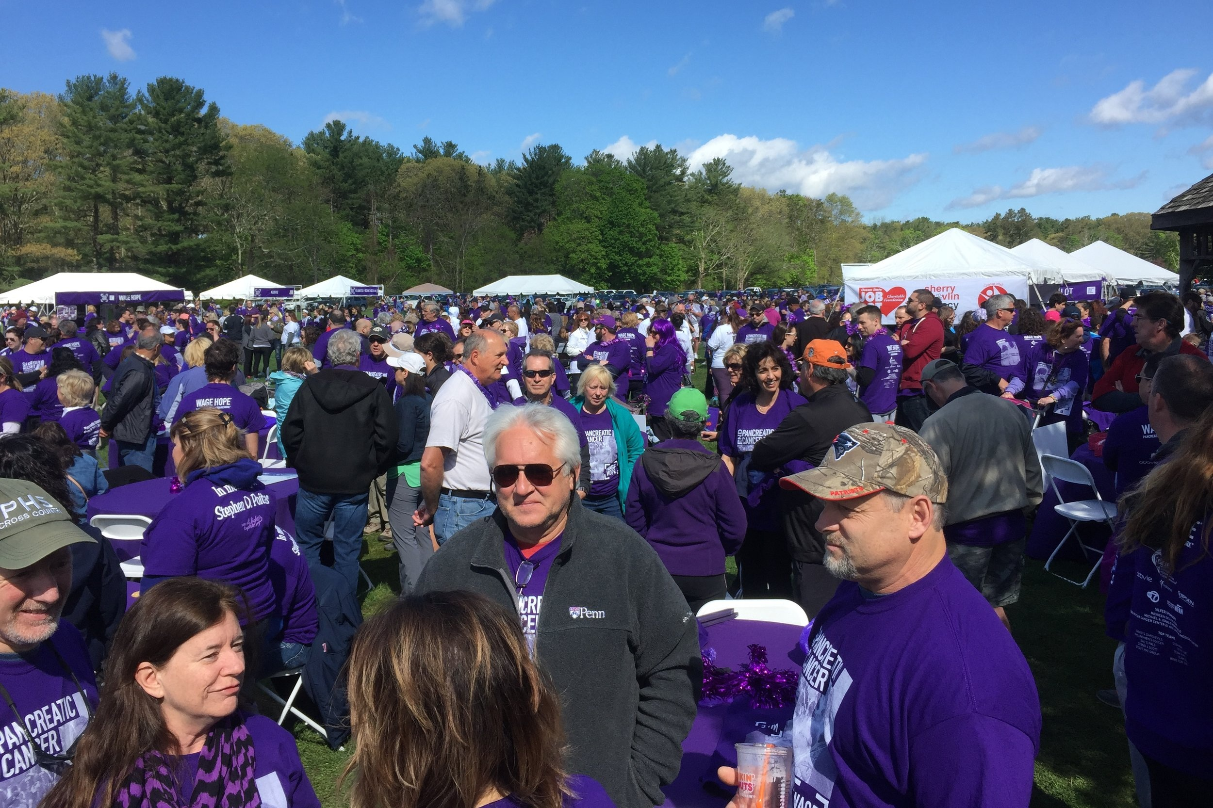 PurpleStride 2018 - The Walk to End Pancreatic Cancer