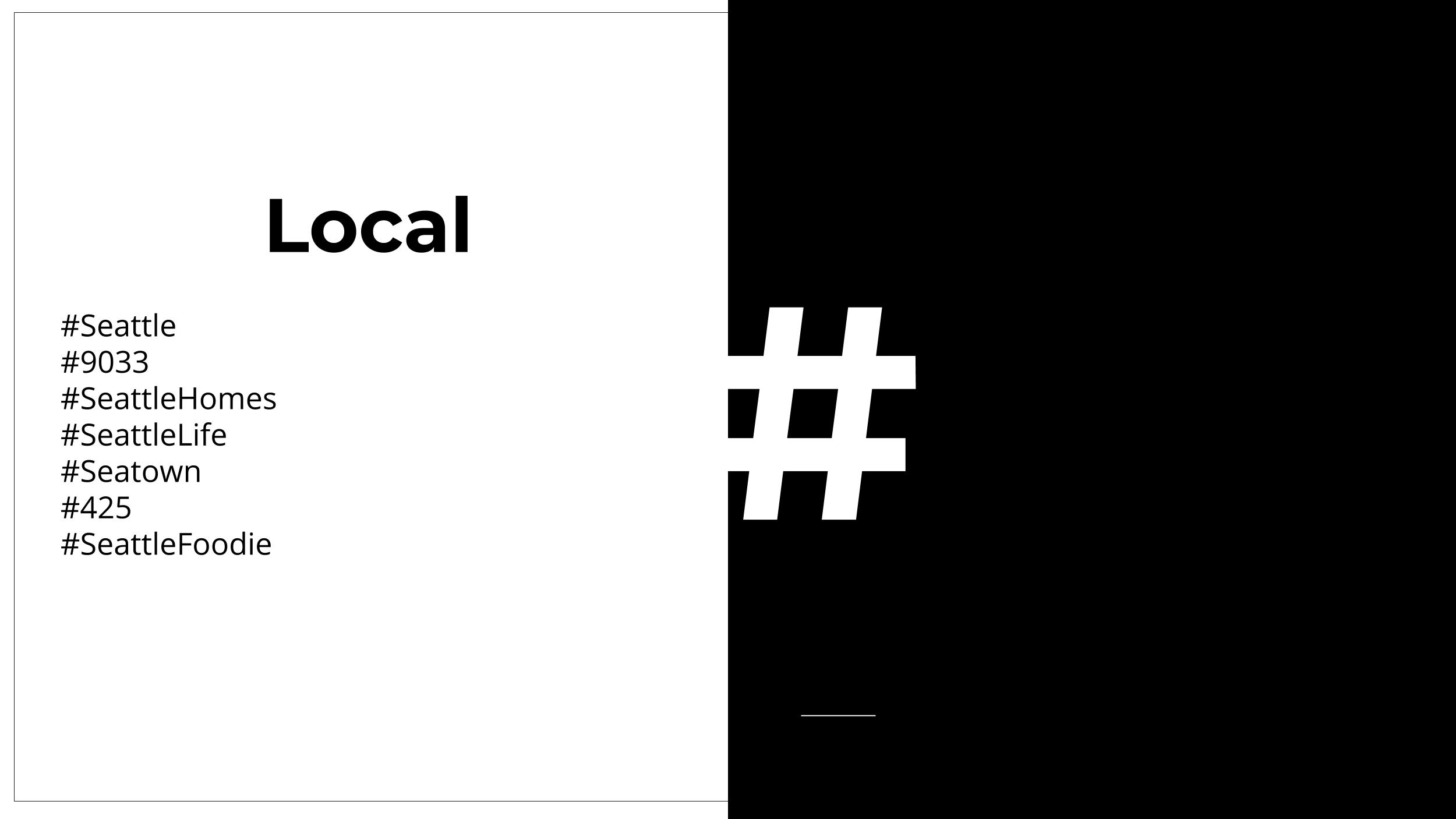 hashtag strategy for real estate agent