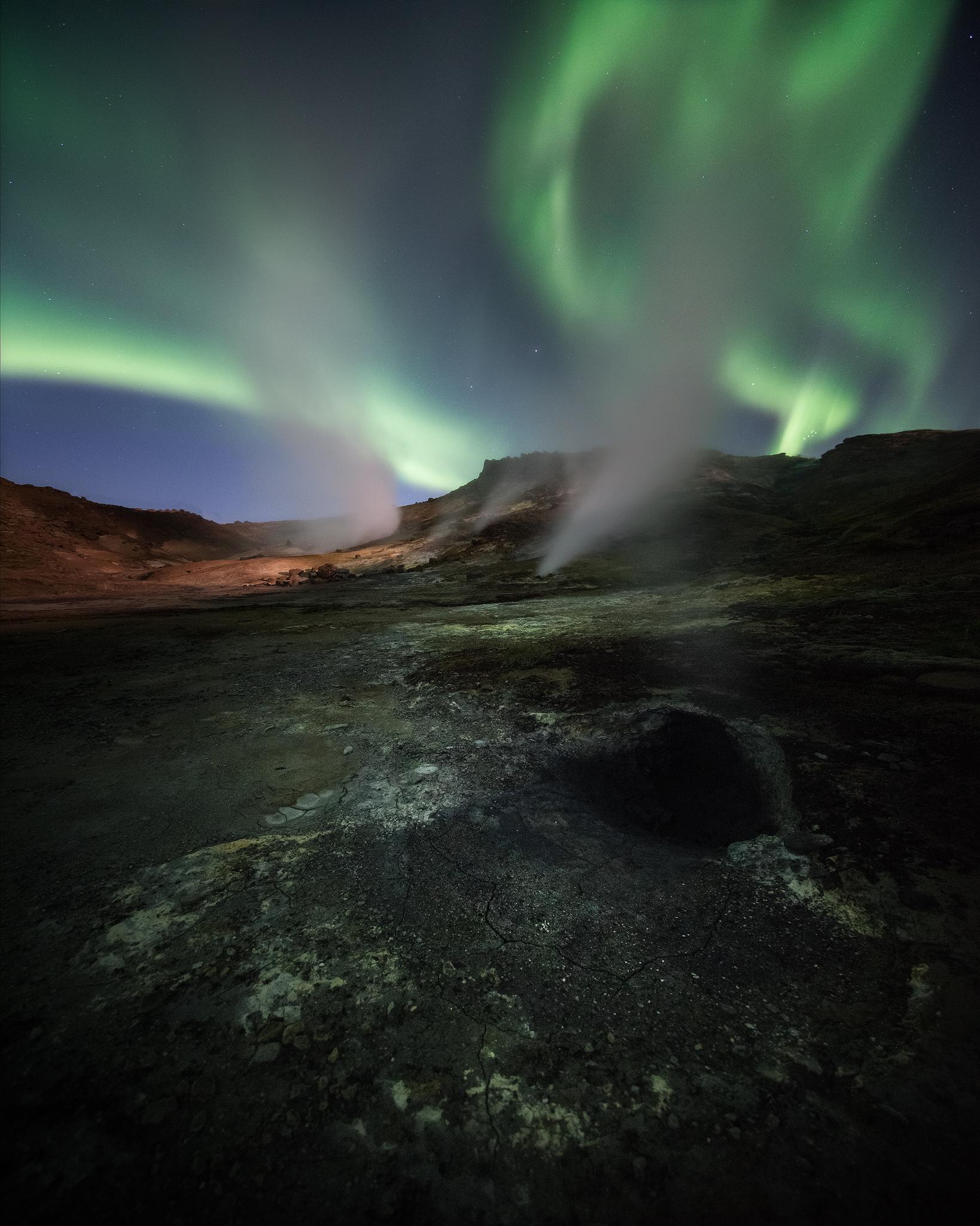 Ölkelduháls Aurora