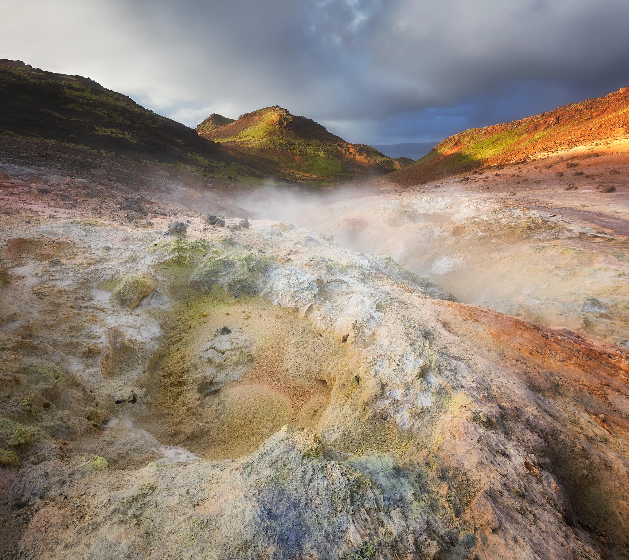 Reykjanes Peninsula Geothermal Area