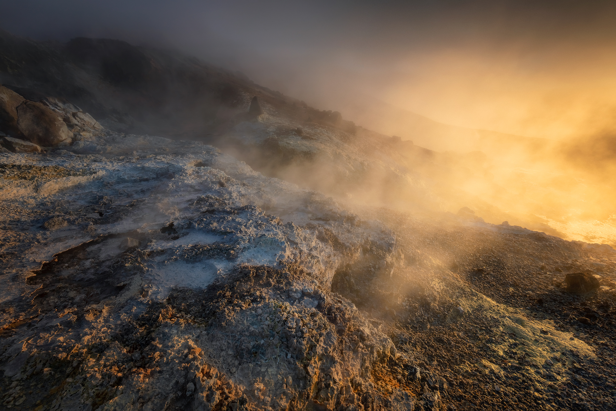 Ölkelduháls - Geothermal Area