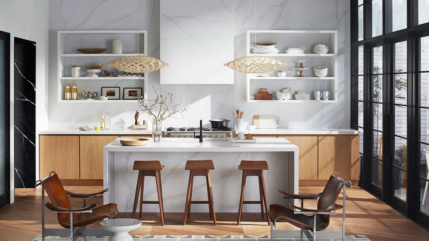 SILESTONE - Thanks to its remarkable characteristics, Silestone is the ideal surface choice. The only quartz surface with a 25-year transferable warranty, Silestone offers a wide range of colors and textures to transform your kitchen or bath into a unique space.< See More