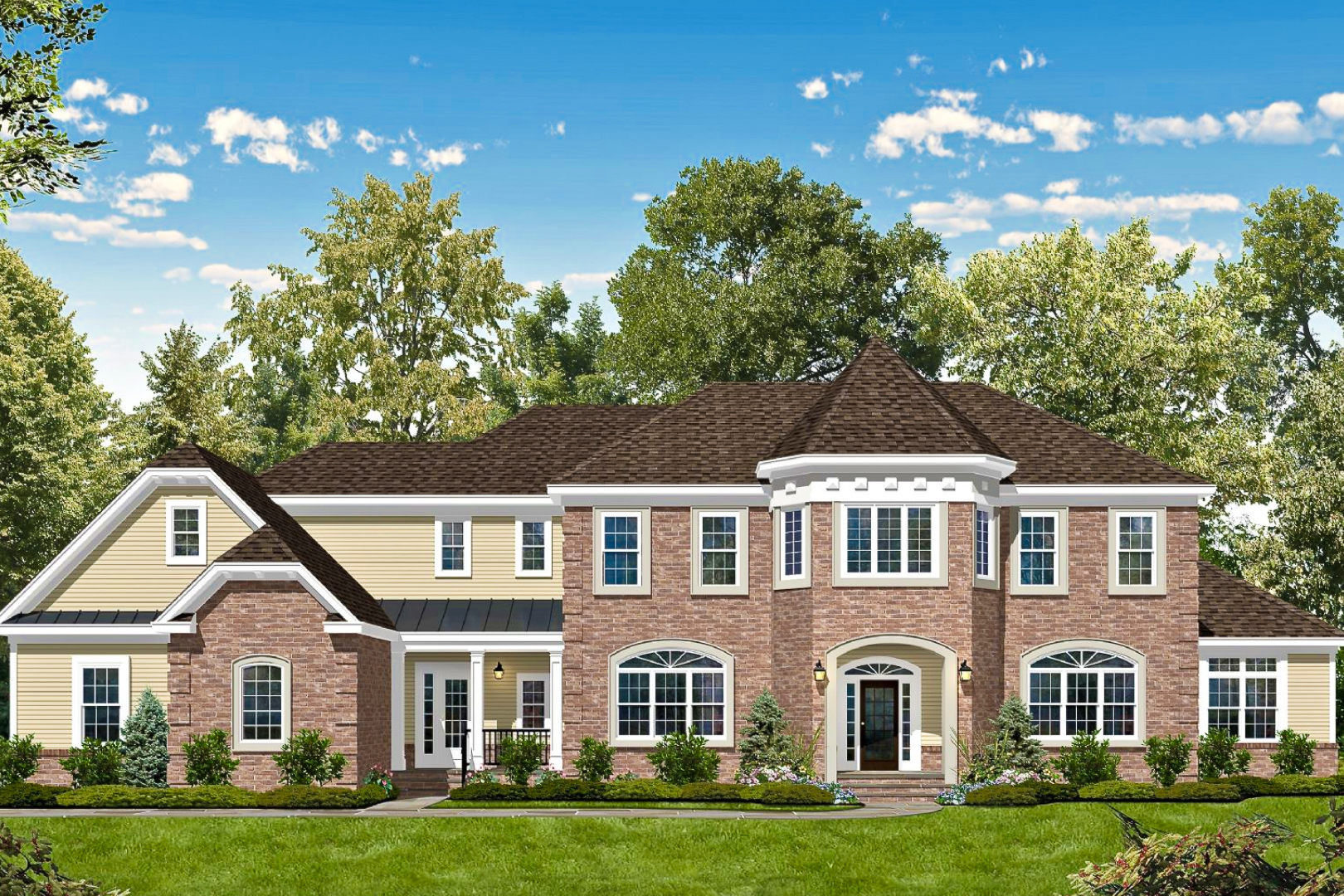 ESTATES AT HOLMDEL - LOCATION: HOLMDELL, NJA new community of 19 single-family homes.