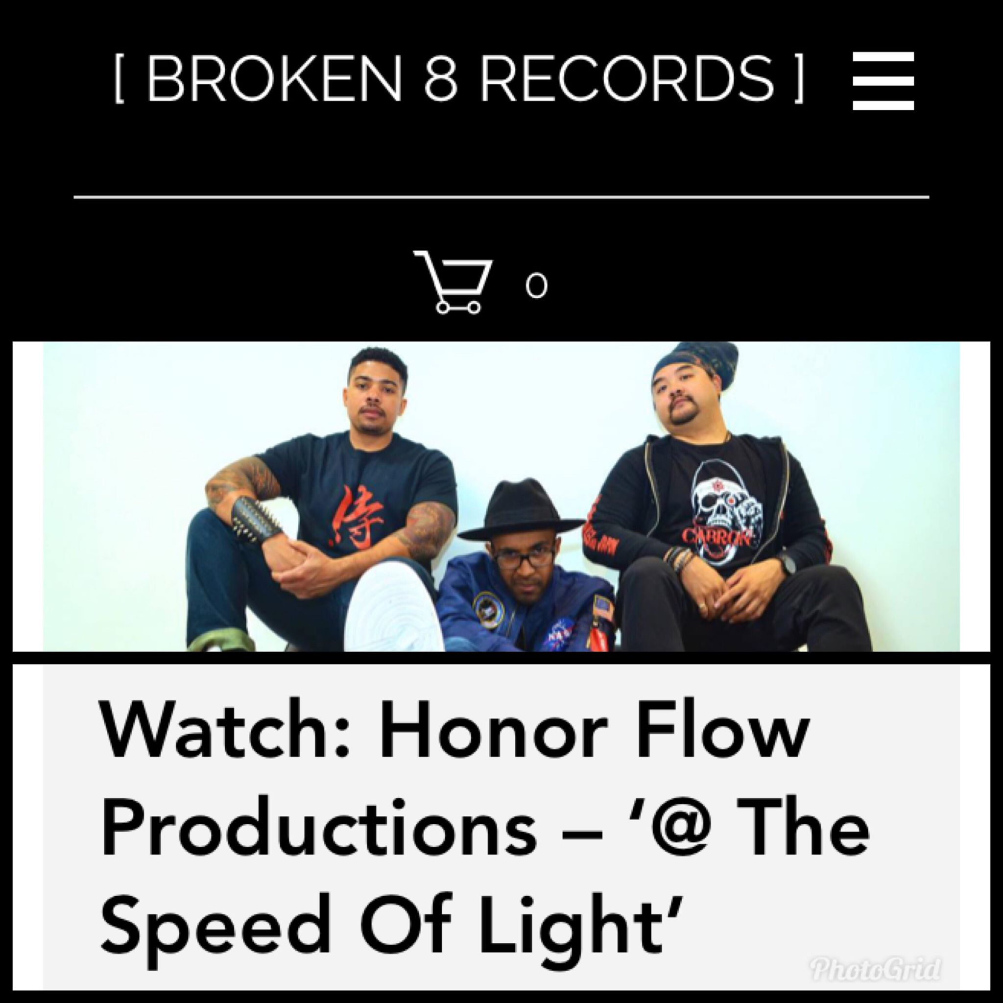 Broken 8 Records Feature