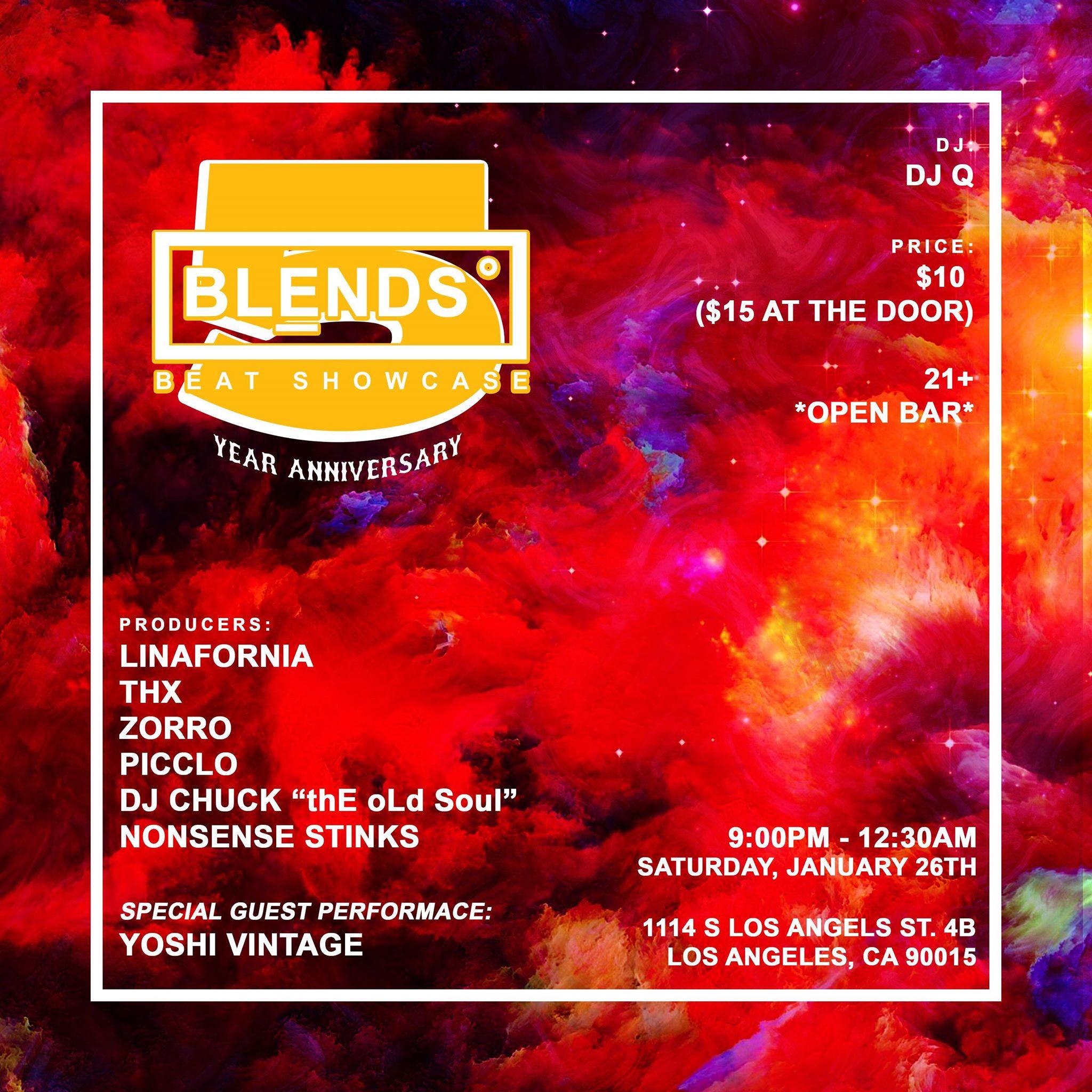 BLENDS 5 Year Beat Showcase