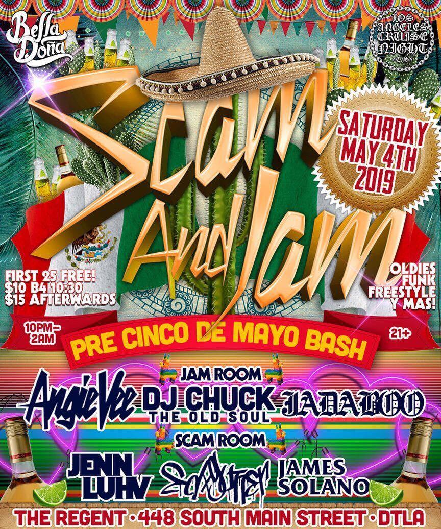 Scam and Jam @ The Regent [DJ Set] (5.4.19).jpg