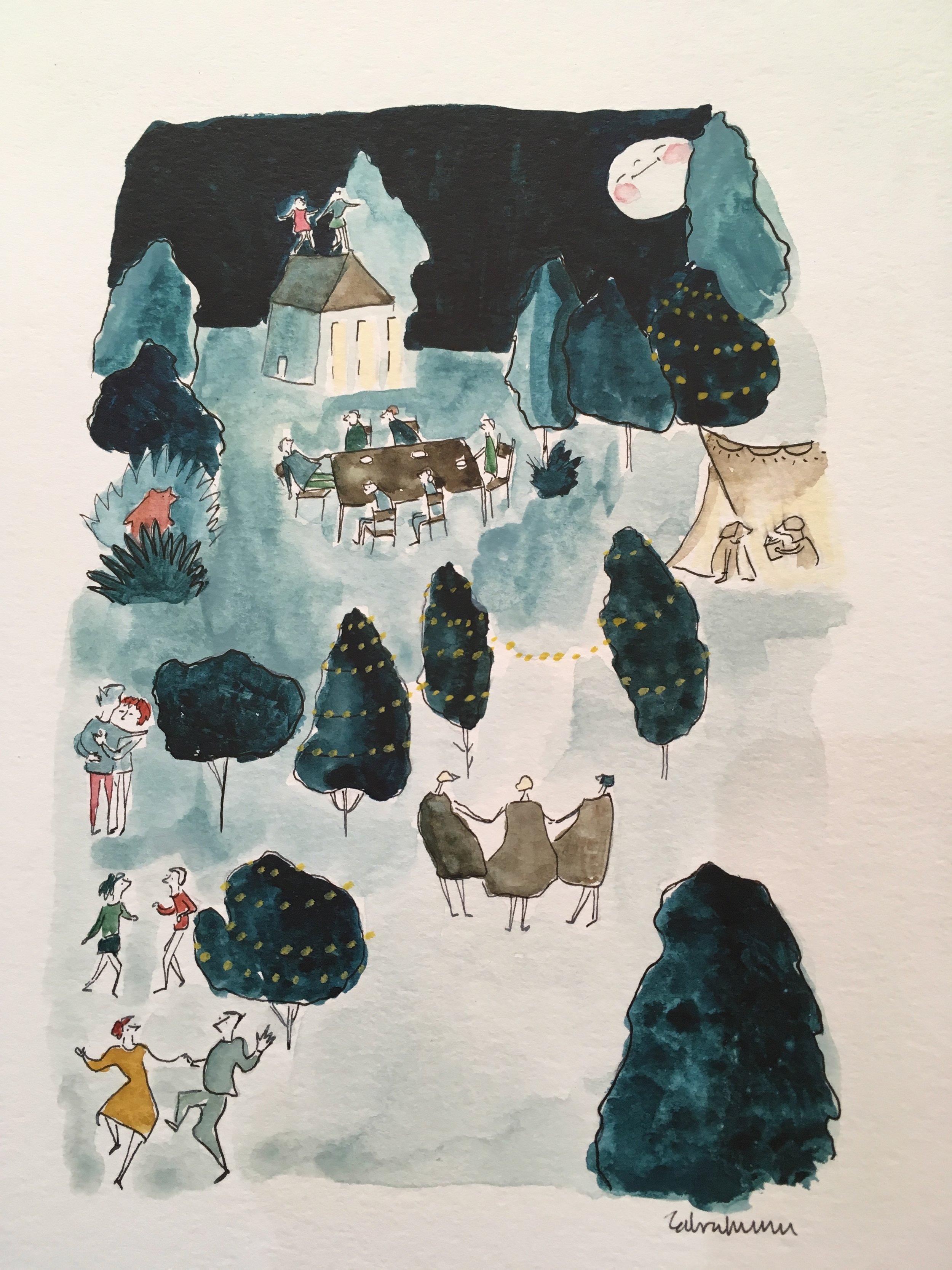 Artwork by Zahra Marwan, Albuquerque