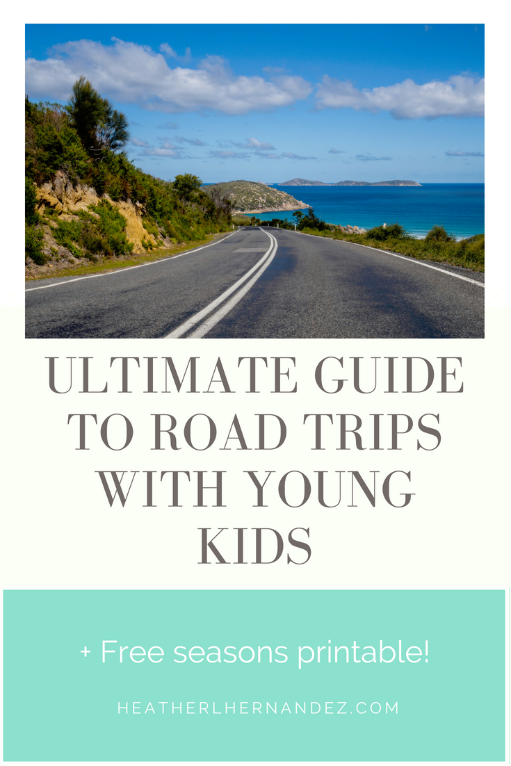 Ultimate Guide to Road Trips with Young Kids