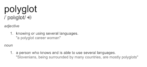 Become a linguist or polyglot; the benefits are always rewarding.