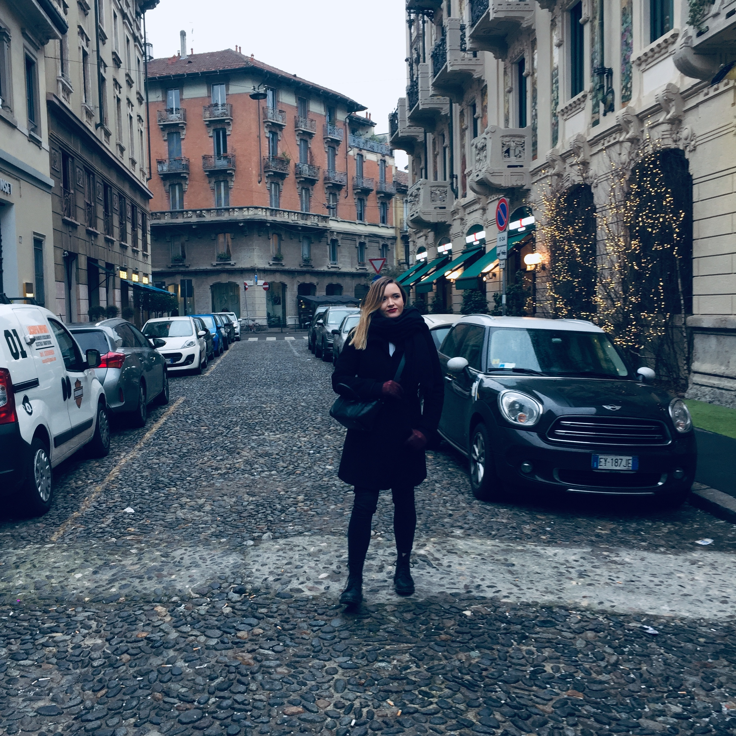it may be January in Milan, but walking around, exploring the city and speaking bad italian is still a lot of fun.