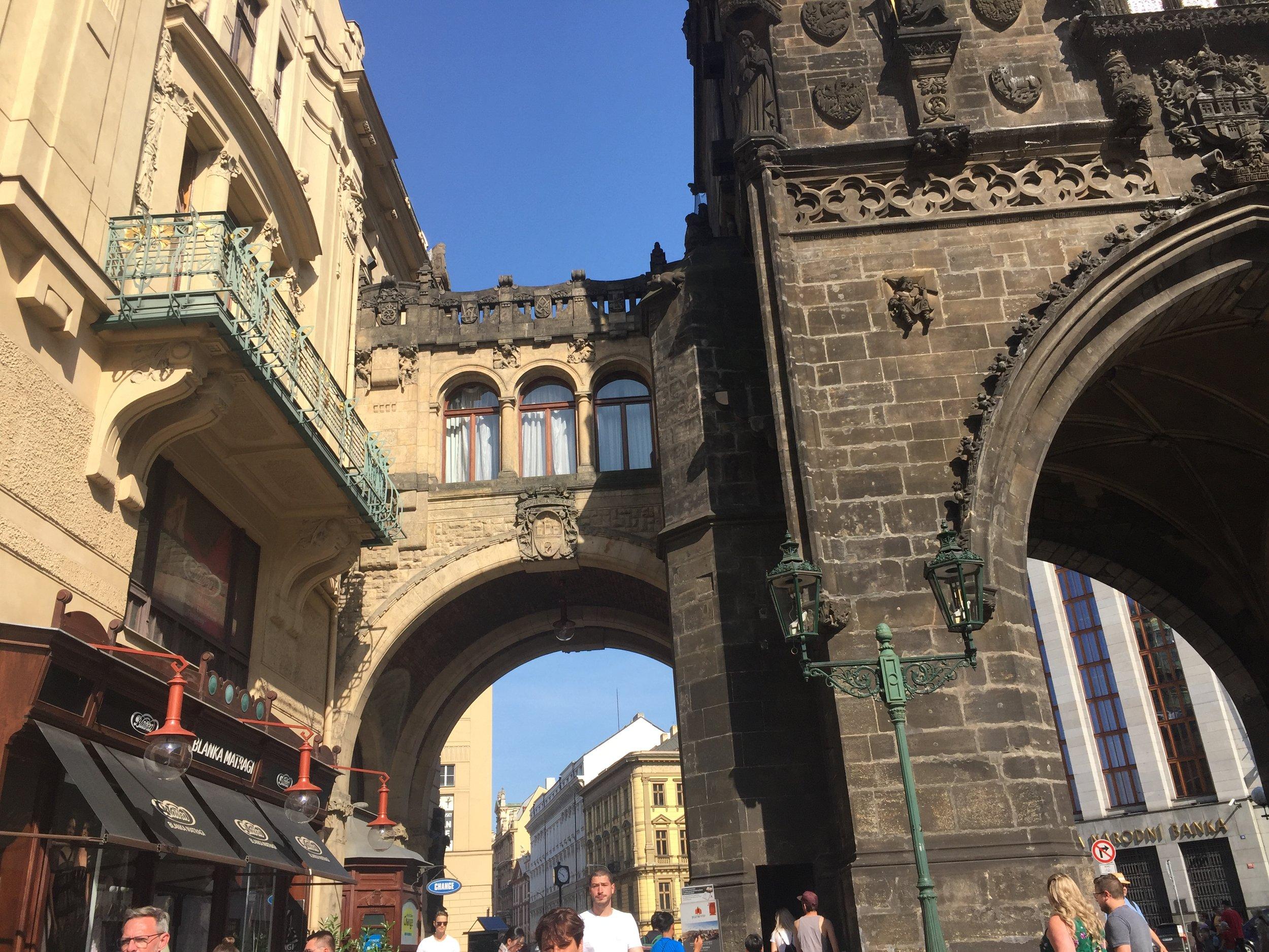 architecture Prague gothic