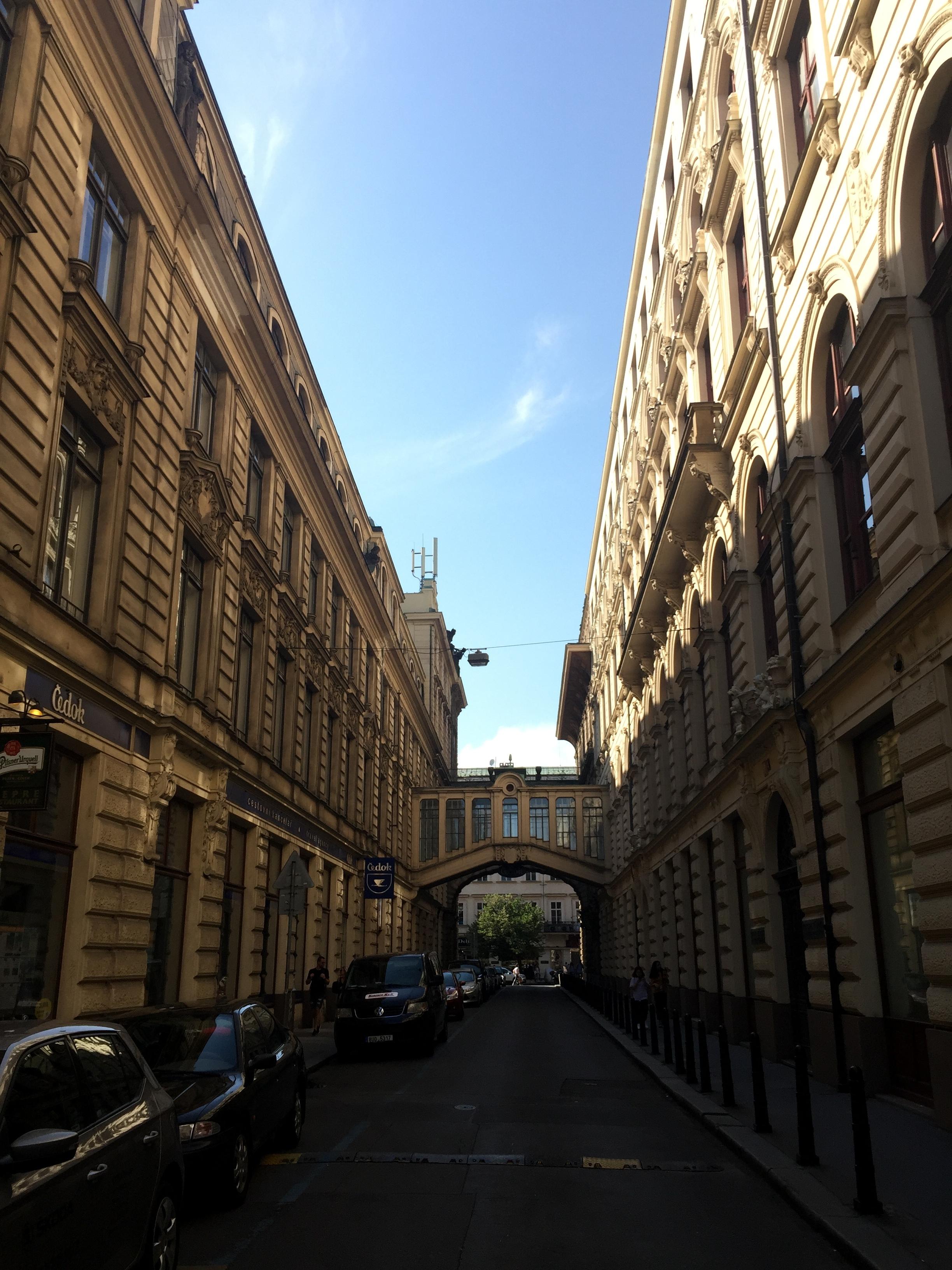 pootling around Prague