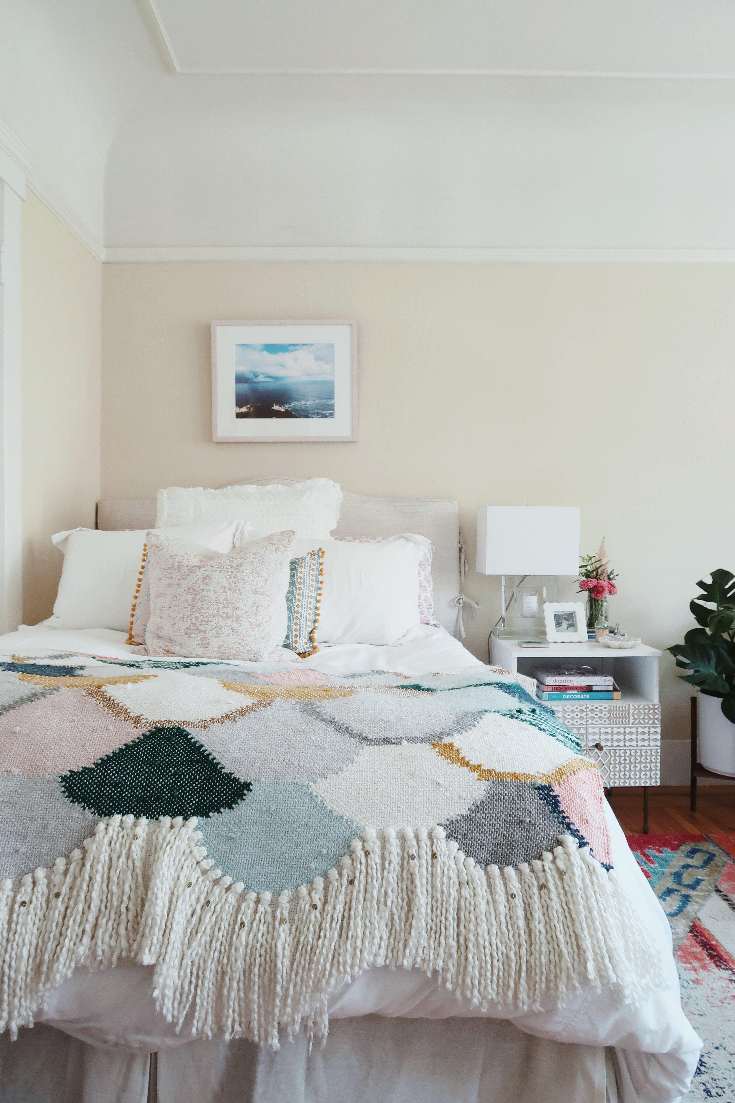 summer bedding refresh