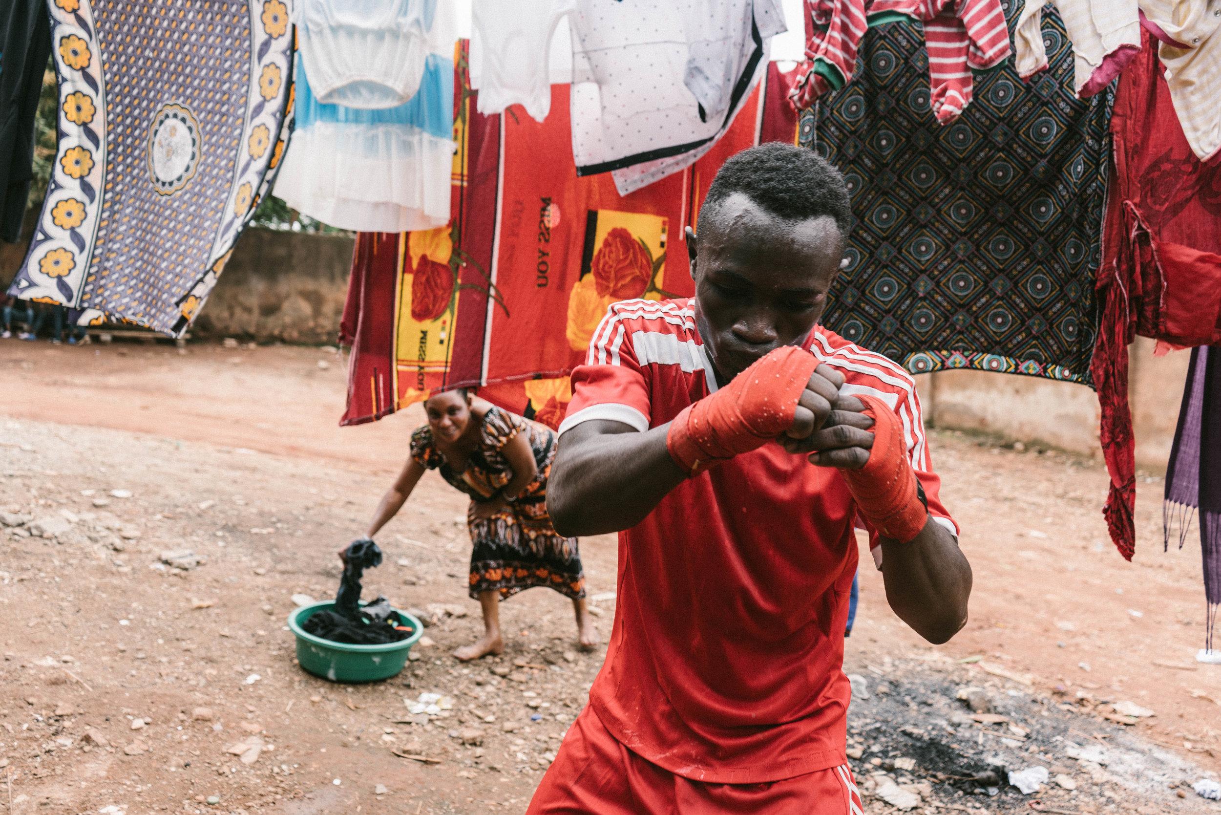 Boxing club -