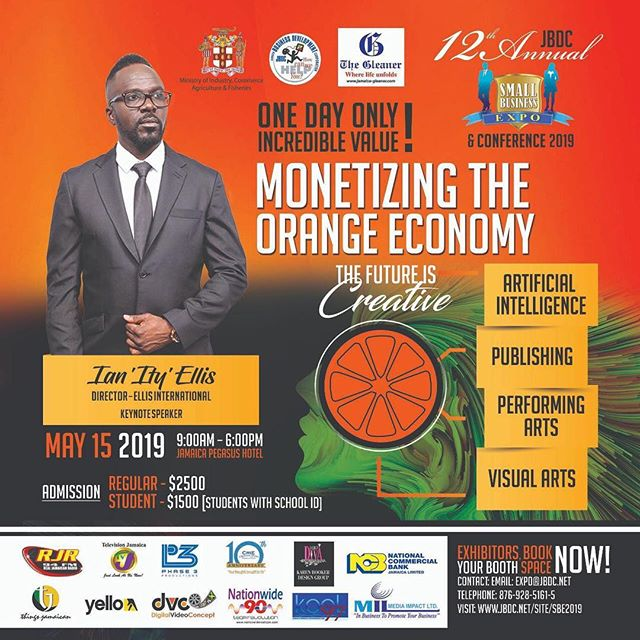 The Future Is Creative! 😏 There is no denying the creative genes that Jamaicans have been blessed with. The 'Orange Economy' by @jbdcjamaica focuses this year on The Creative Industries and the Cultural Industries.  Register & Learn more so that you too can successfully monetizing your creativity - link in their bio 🙌 We are Jamaicans, We are Creative 💃💃