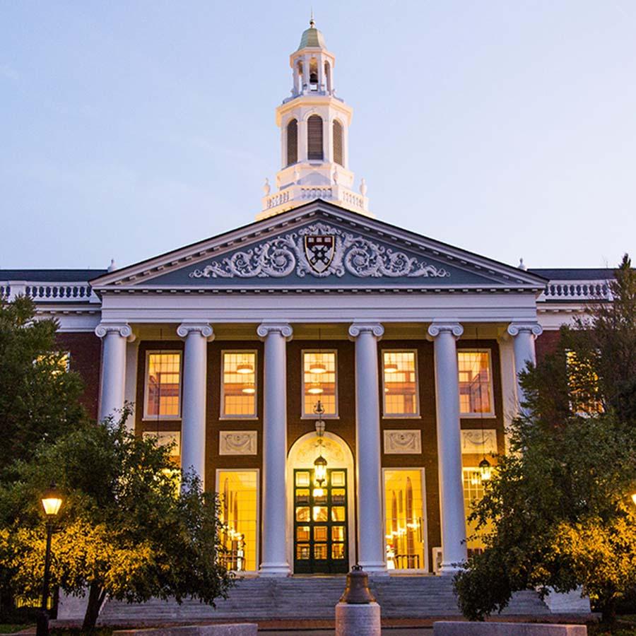 Harvard Business School- Baker Library