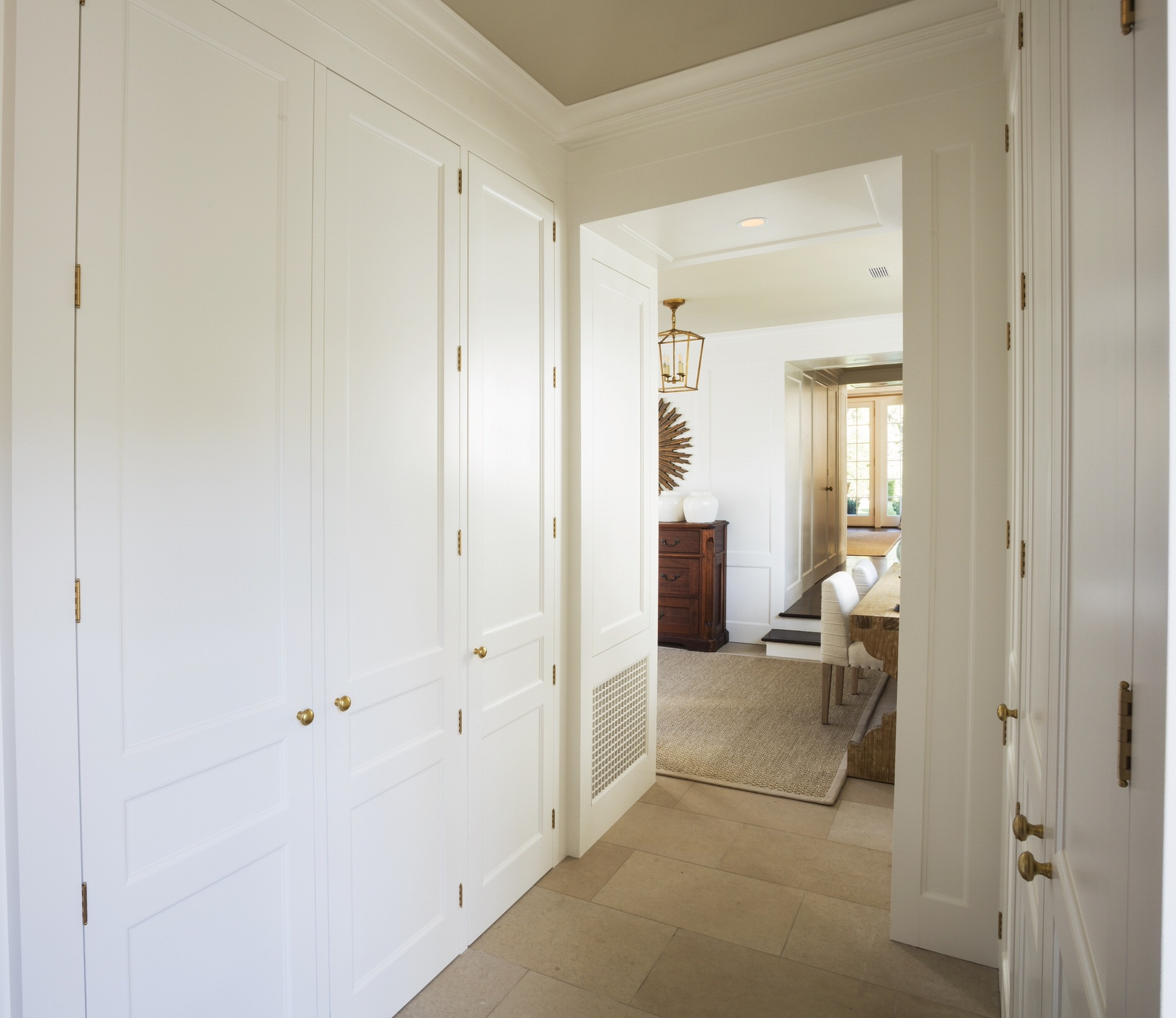 Interior Architecture for a family's entry hall— designed for Hamady Architects