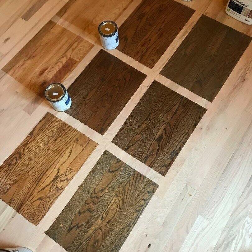 Hardwood Floor Staining Bona Stain