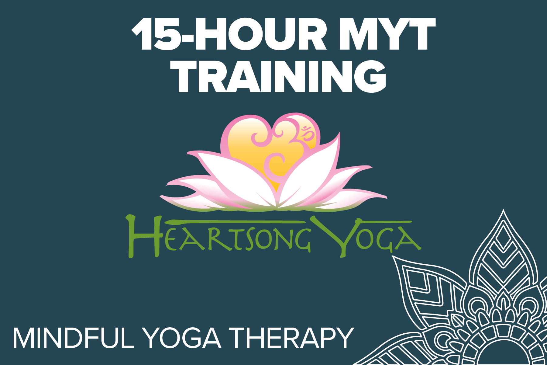 Heartsong Yoga - Mindful Yoga Therapy is an empirically informed, clinically tested program comprised of five practices: Pranayama (breathing), Asana (postures connected with breath), Yoga Nidra, Meditation, and Gratitude.