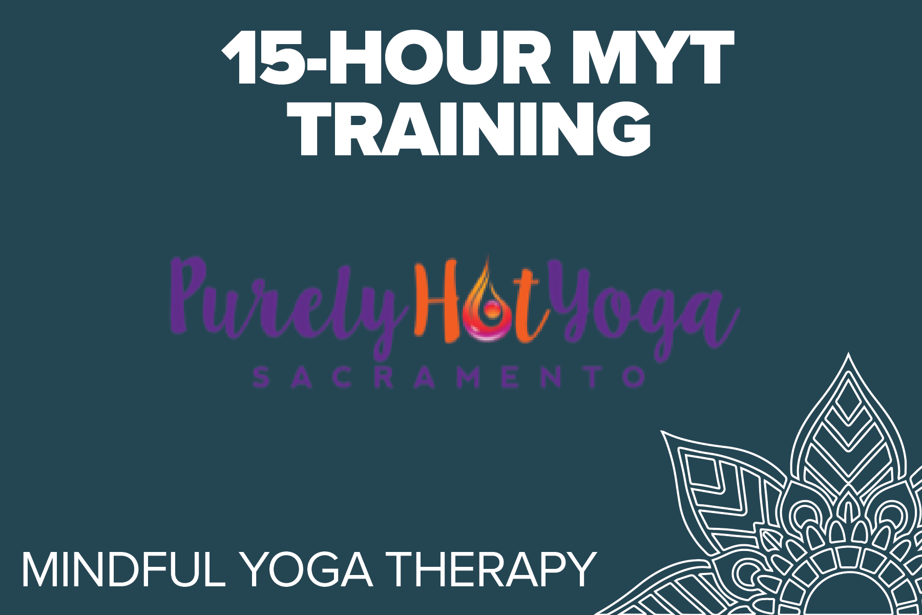 Purely Hot Yoga - Mindful Yoga Therapy is an empirically informed, clinically tested program comprised of five practices: Pranayama (breathing), Asana (postures connected with breath), Yoga Nidra, Meditation, and Gratitude.REGISTRATION COMING SOON!
