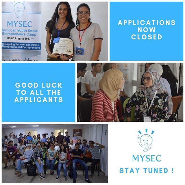 [MYSECamp]  MYSEC team would like to thank all the applicants who applied for the program.  Stay tuned for the results !