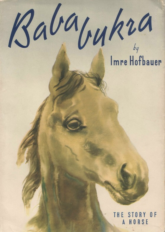 """BAbabukra (1947) - Drawings and text by Imre Hofbauer""""Persuasive prose and forceful, arresting colours. A Centro-European Black Beauty."""""""