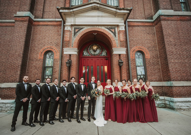 The Groomsmen & Bridesmaid