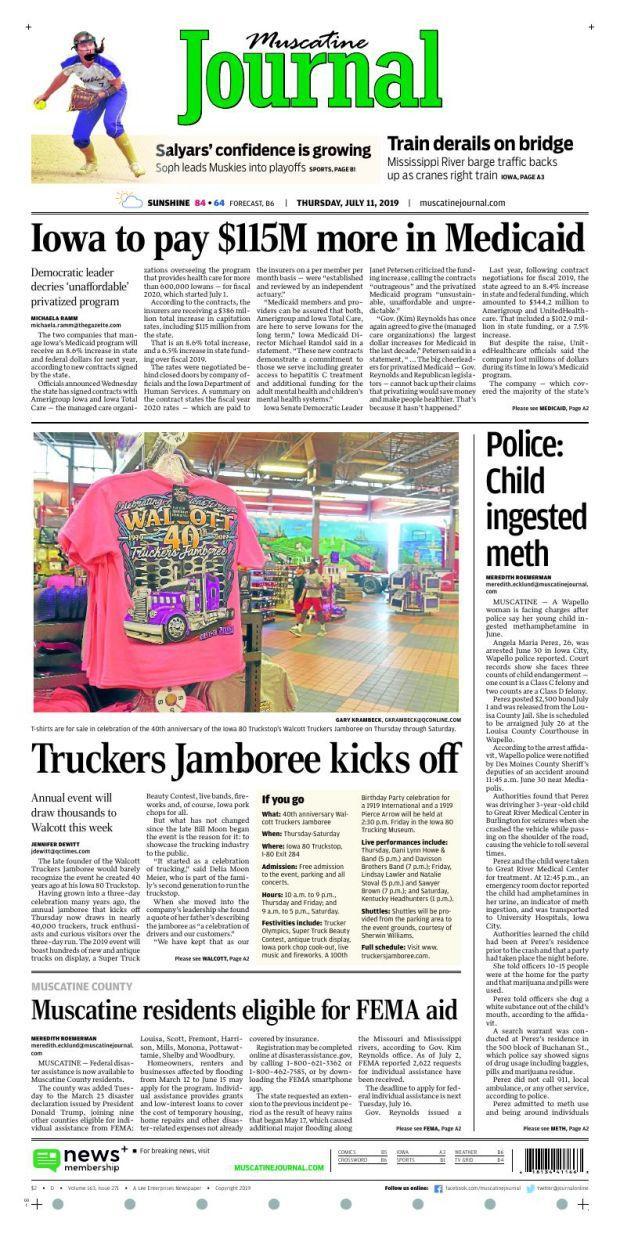 Iowa Muscatine Daily Journal.