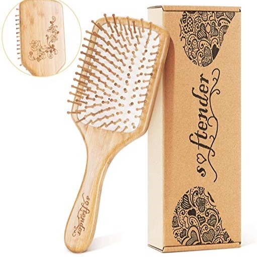 Bamboo Hairbrushes -