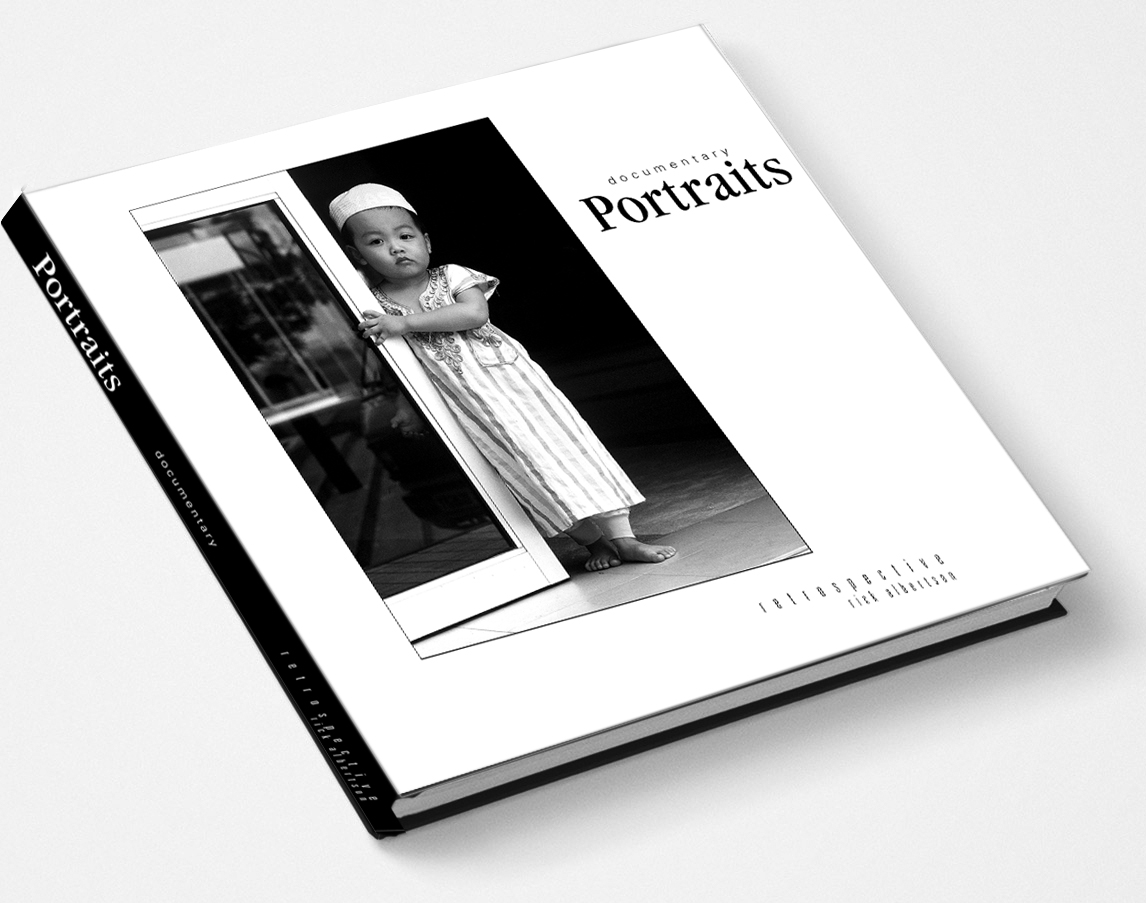 Picture of: Documentary Portraits Retrospective Coffee Table Book Rickalbertson Documentary Photography