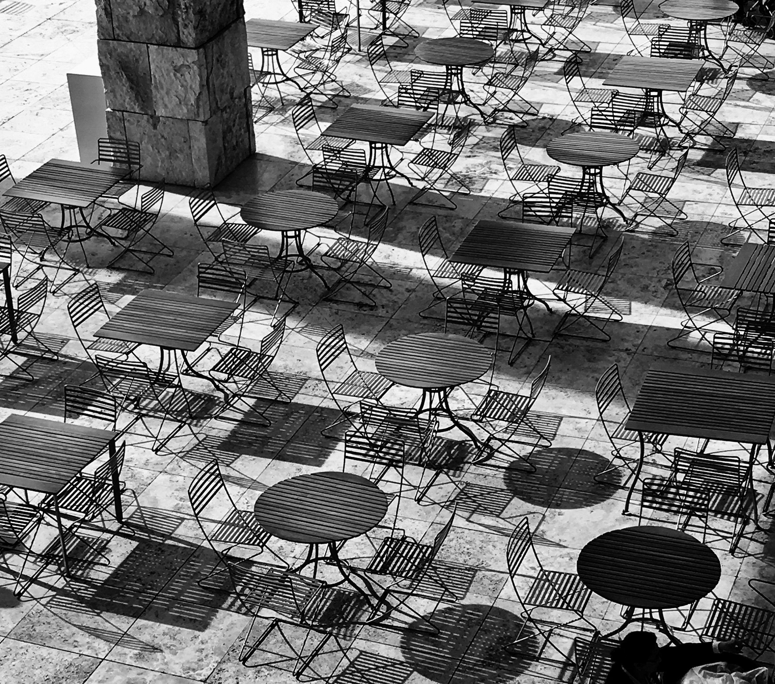 Tables, Chairs, Shadows