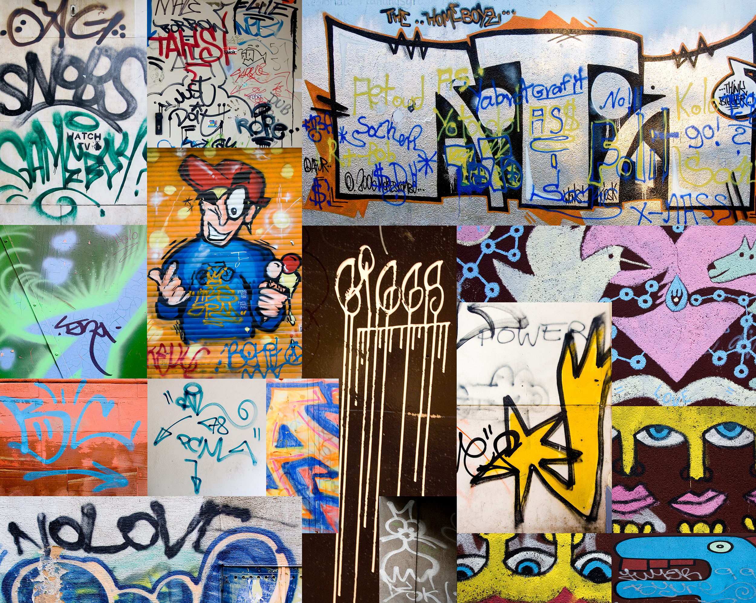 Grafitti Collage